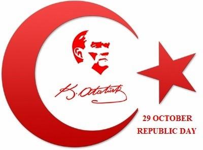 29 October Republic Day.